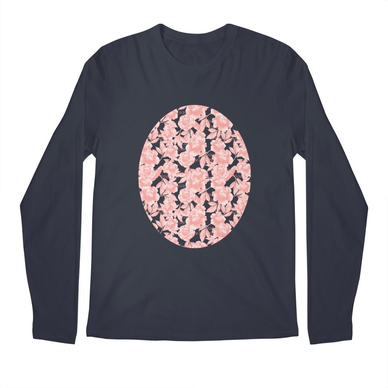 F*CK FEELINGS! CORAL Men's Regular Longsleeve T-Shirt by gasponce