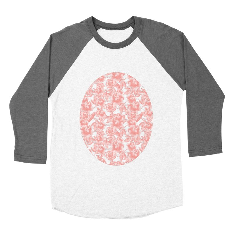 F*CK FEELINGS! CORAL Women's Baseball Triblend Longsleeve T-Shirt by gasponce