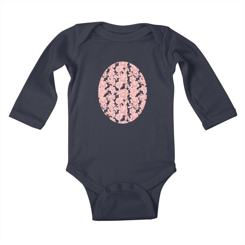 F*CK FEELINGS! CORAL Kids Baby Longsleeve Bodysuit by gasponce