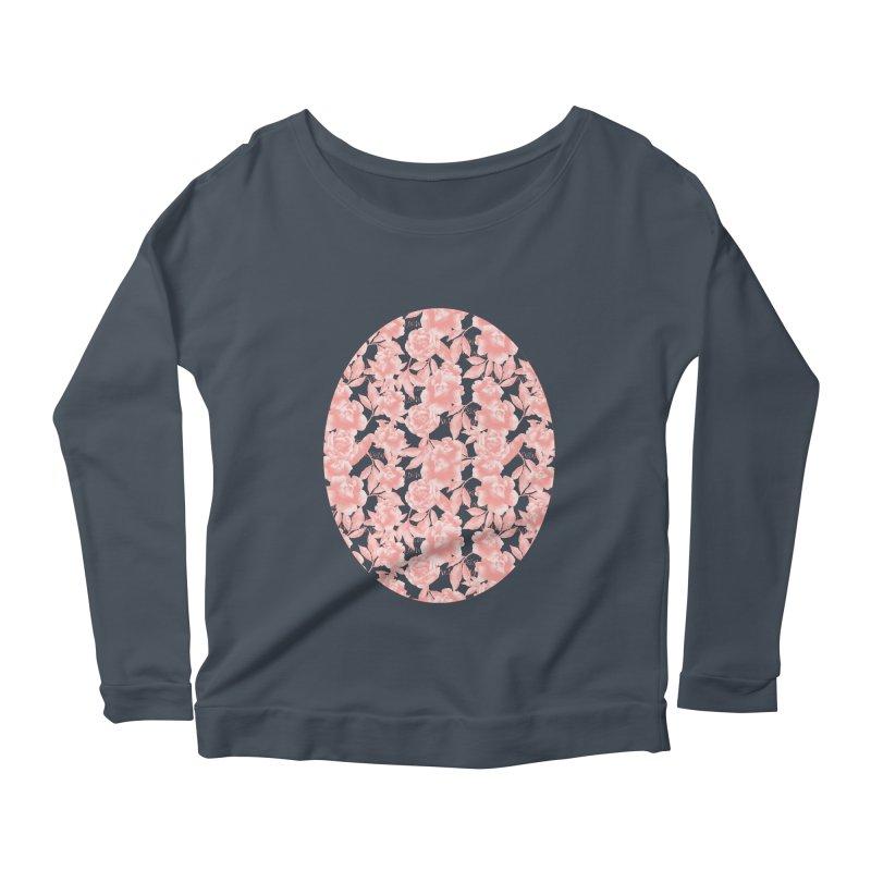 F*CK FEELINGS! CORAL Women's Scoop Neck Longsleeve T-Shirt by gasponce