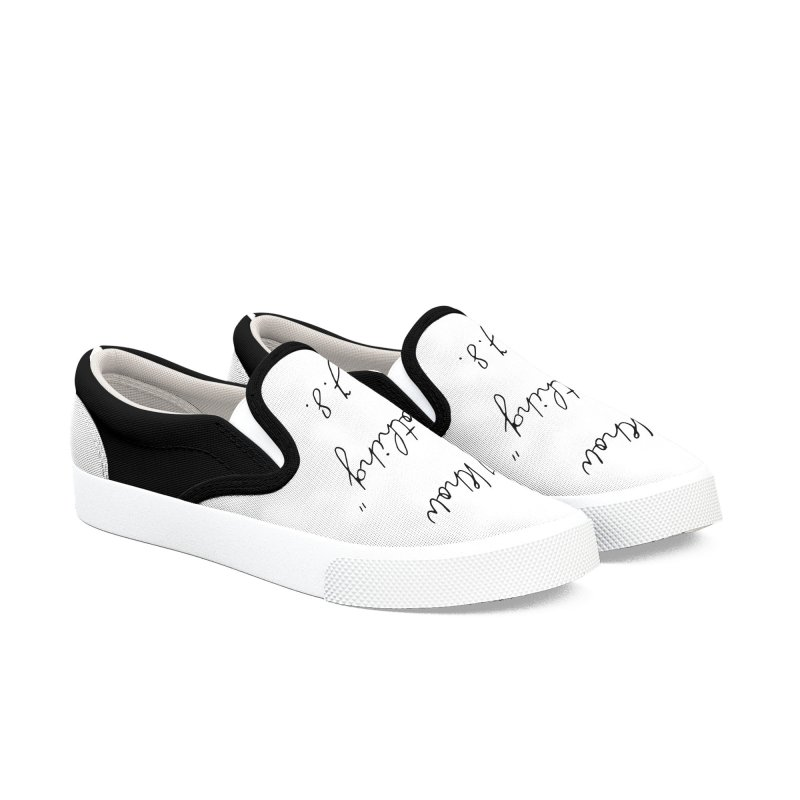 NOTHING! Women's Slip-On Shoes by gasponce