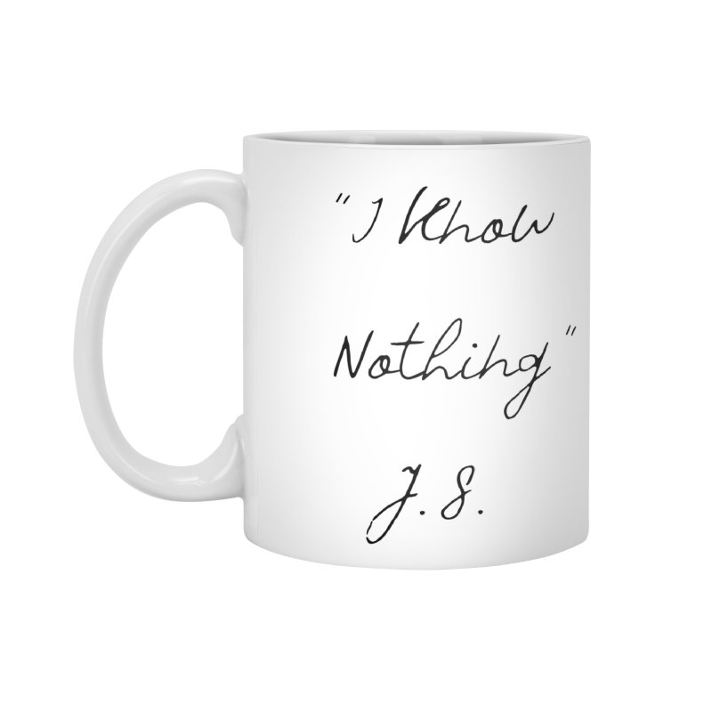 NOTHING! Accessories Mug by gasponce