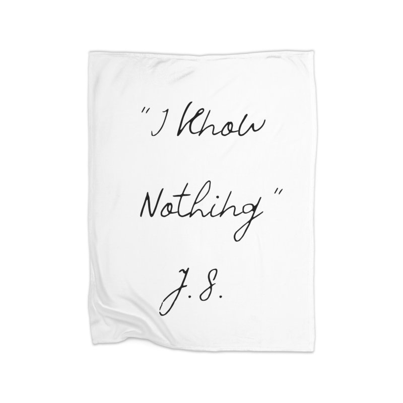 NOTHING! Home Fleece Blanket Blanket by gasponce