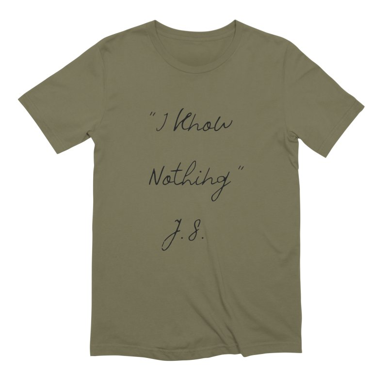 NOTHING! Men's Extra Soft T-Shirt by gasponce