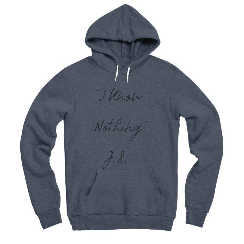 NOTHING! Women's Sponge Fleece Pullover Hoody by gasponce