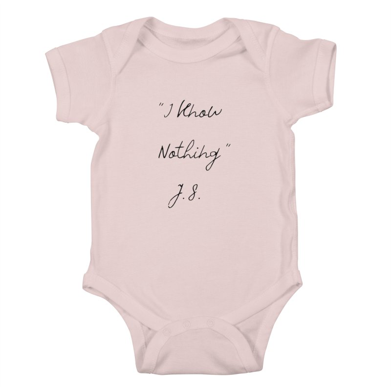 NOTHING! Kids Baby Bodysuit by gasponce