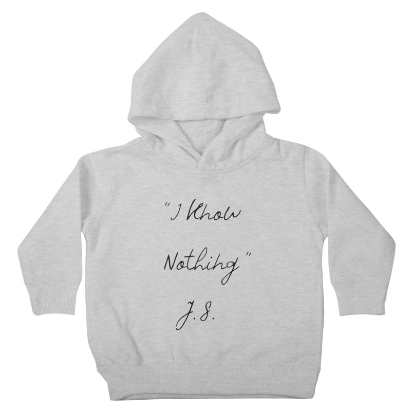 NOTHING! Kids Toddler Pullover Hoody by gasponce