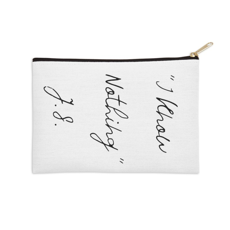 NOTHING! Accessories Zip Pouch by gasponce