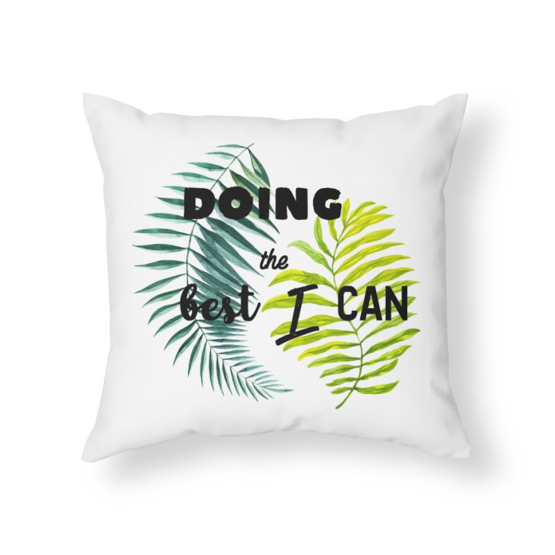 Best! Home Throw Pillow by gasponce