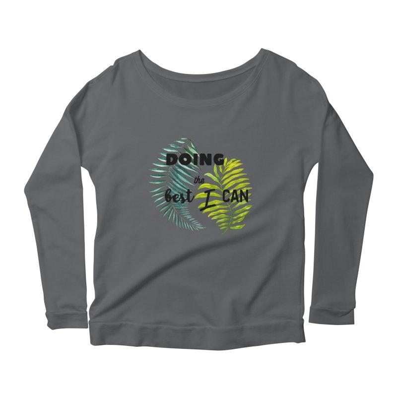 Best! Women's Scoop Neck Longsleeve T-Shirt by gasponce