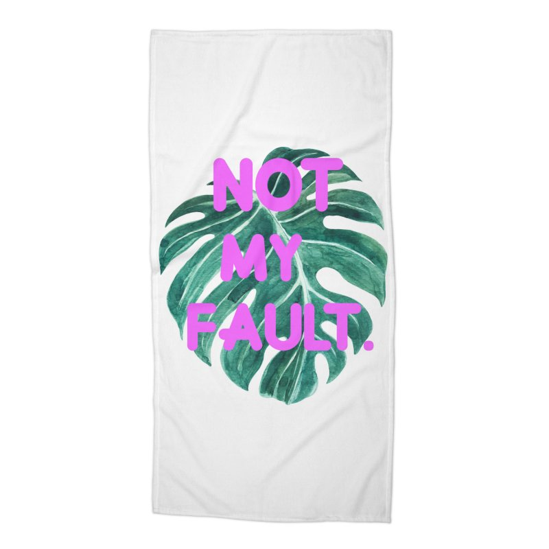 Fault! Accessories Beach Towel by gasponce