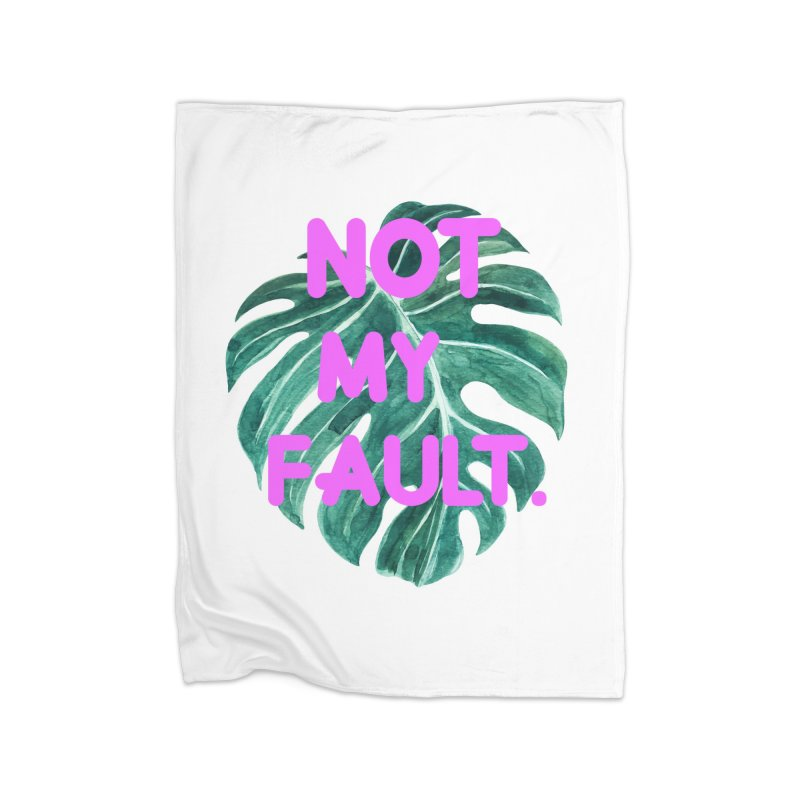 Fault! Home Fleece Blanket Blanket by gasponce