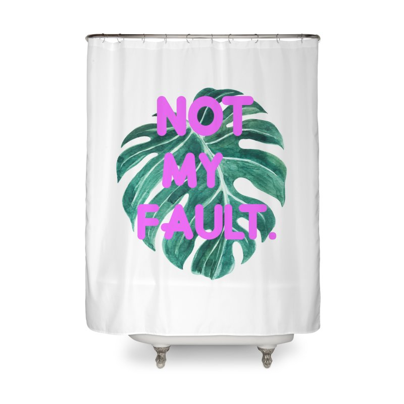 Fault! Home Shower Curtain by gasponce