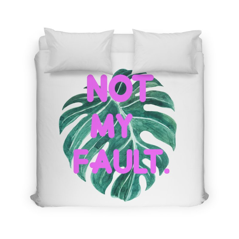 Fault! Home Duvet by gasponce