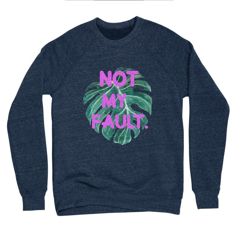 Fault! Men's Sponge Fleece Sweatshirt by gasponce