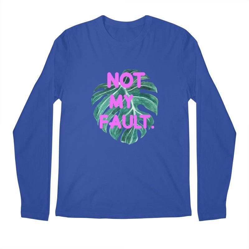 Fault! Men's Regular Longsleeve T-Shirt by gasponce