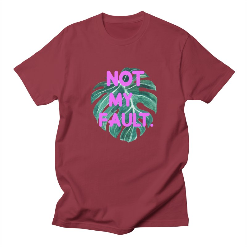 Fault! Women's Regular Unisex T-Shirt by gasponce