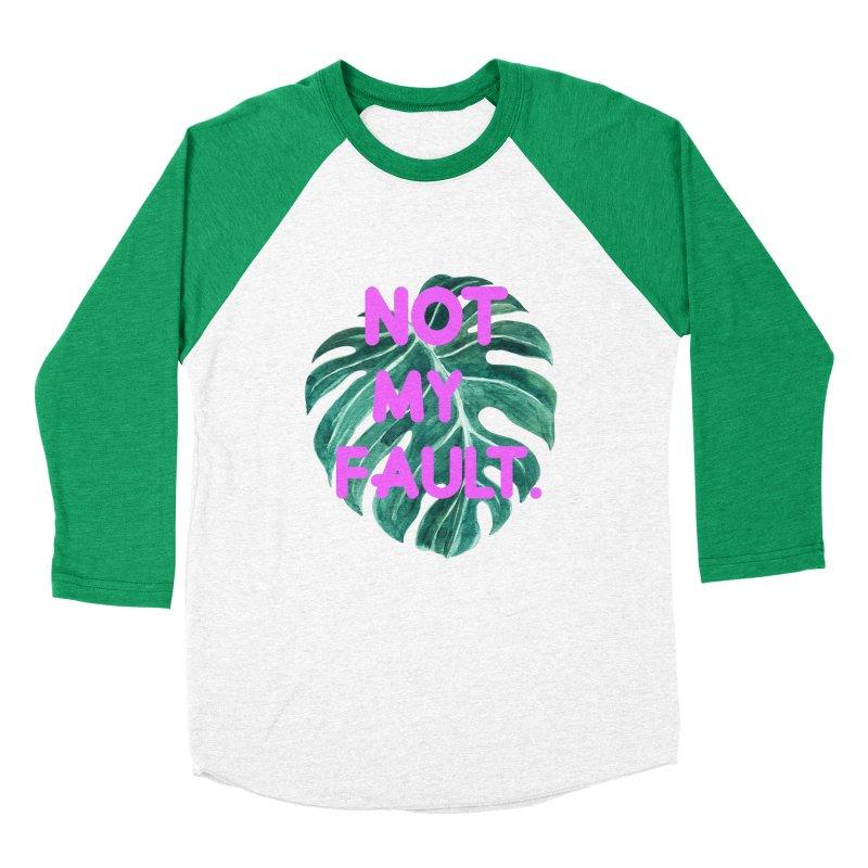 Fault! Women's Baseball Triblend Longsleeve T-Shirt by gasponce