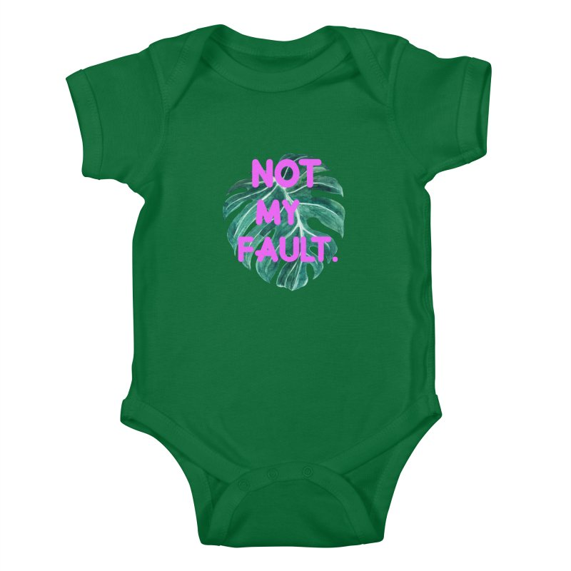 Fault! Kids Baby Bodysuit by gasponce