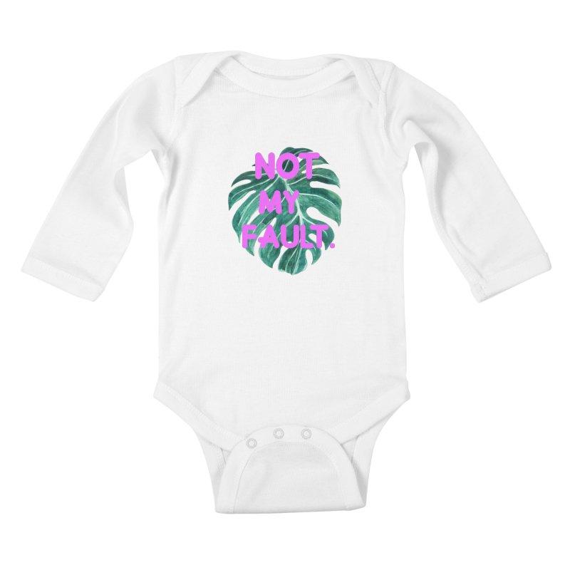 Fault! Kids Baby Longsleeve Bodysuit by gasponce