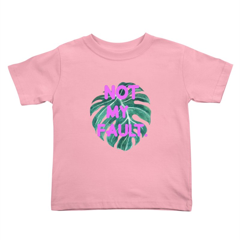 Fault! Kids Toddler T-Shirt by gasponce