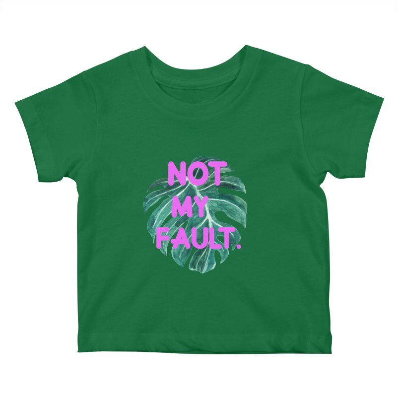 Fault! Kids Baby T-Shirt by gasponce
