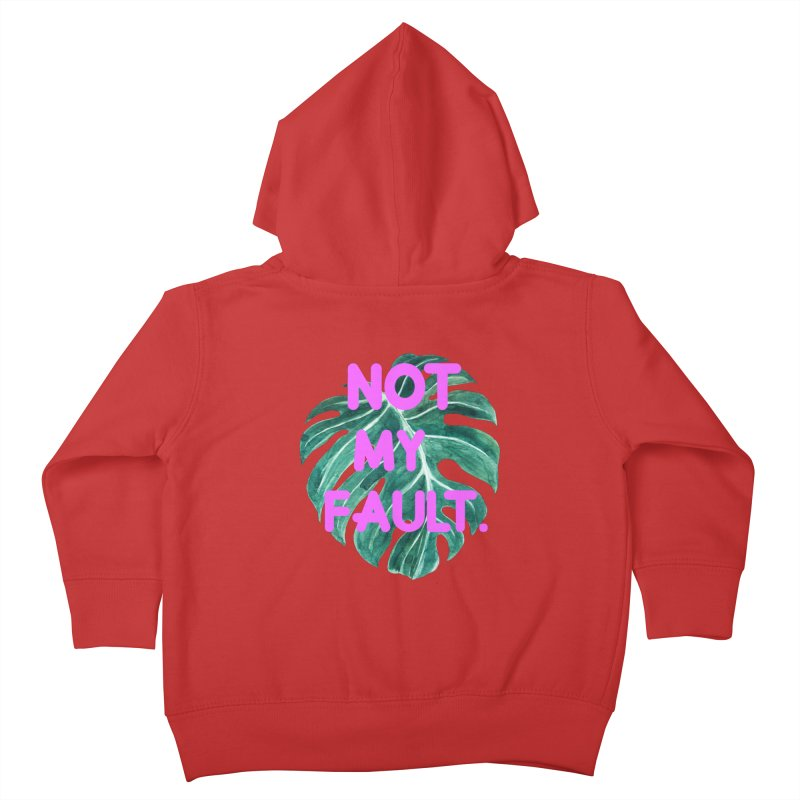 Fault! Kids Toddler Zip-Up Hoody by gasponce