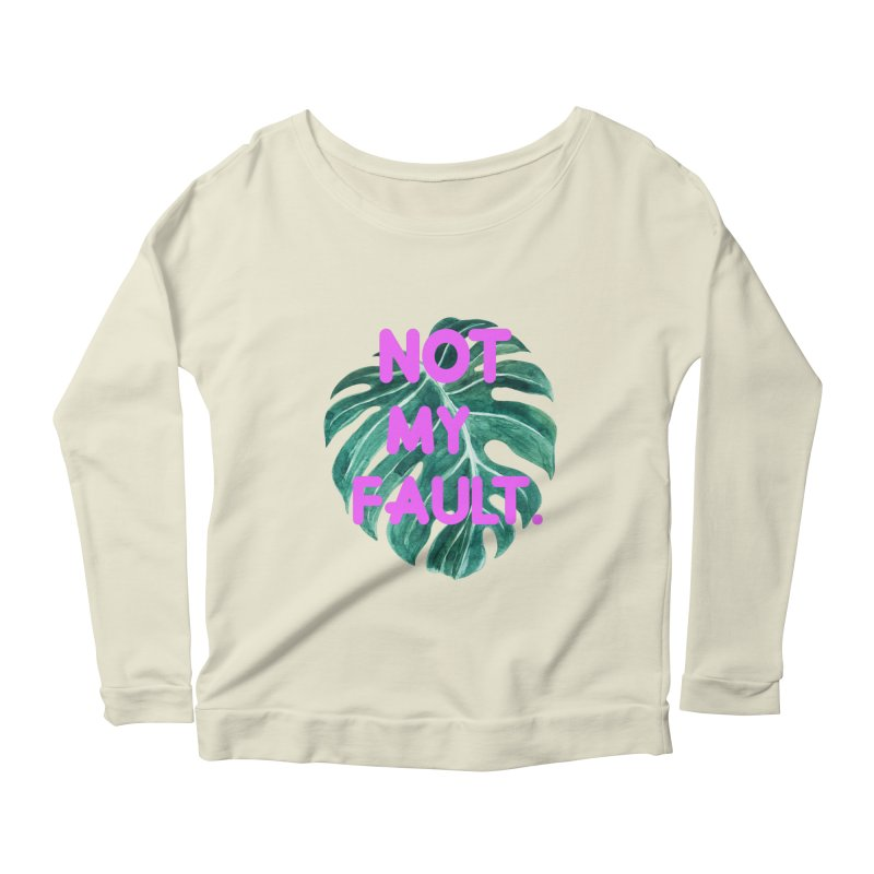 Fault! Women's Scoop Neck Longsleeve T-Shirt by gasponce