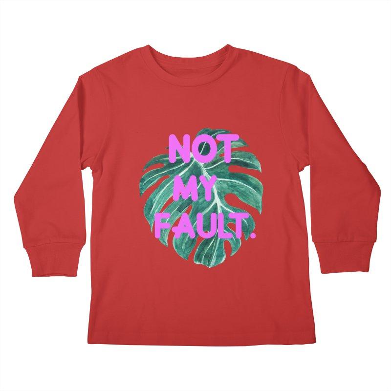 Fault! Kids Longsleeve T-Shirt by gasponce