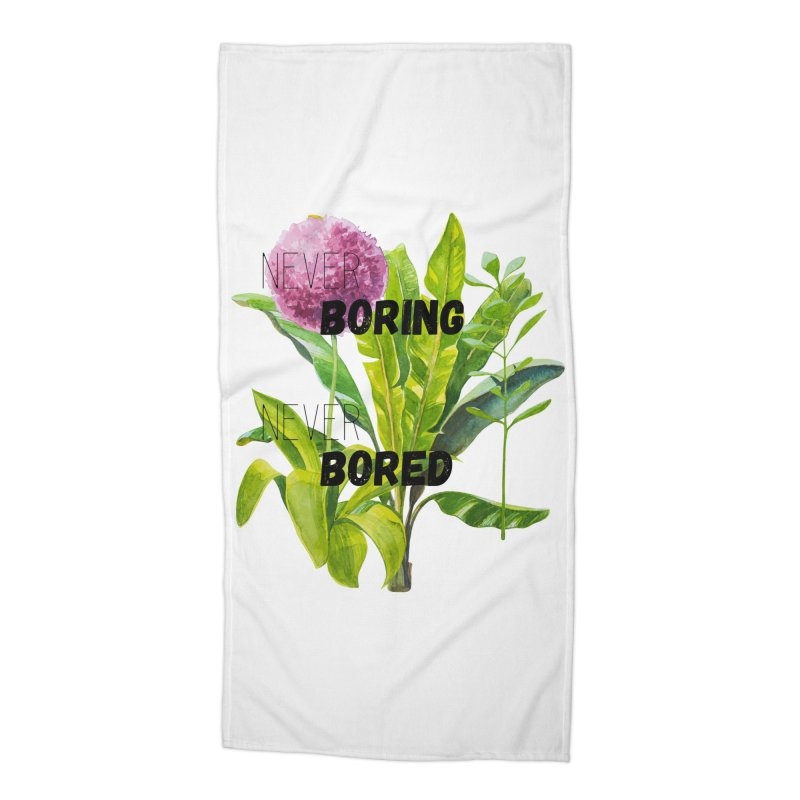 boring! Accessories Beach Towel by gasponce
