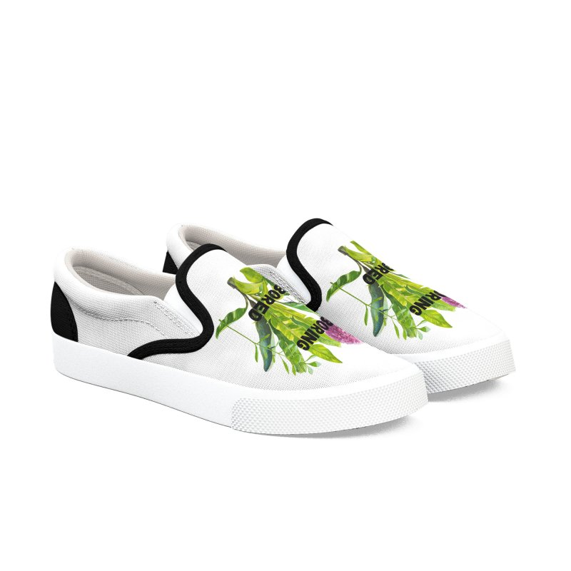 boring! Women's Slip-On Shoes by gasponce