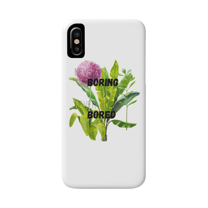 boring! Accessories Phone Case by gasponce