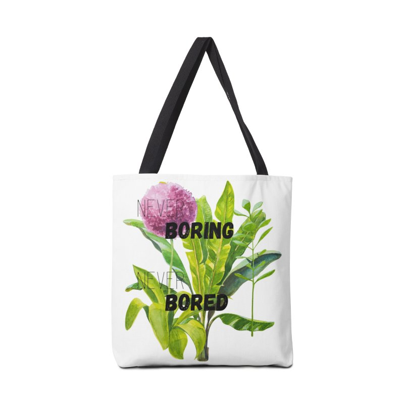 boring! Accessories Tote Bag Bag by gasponce