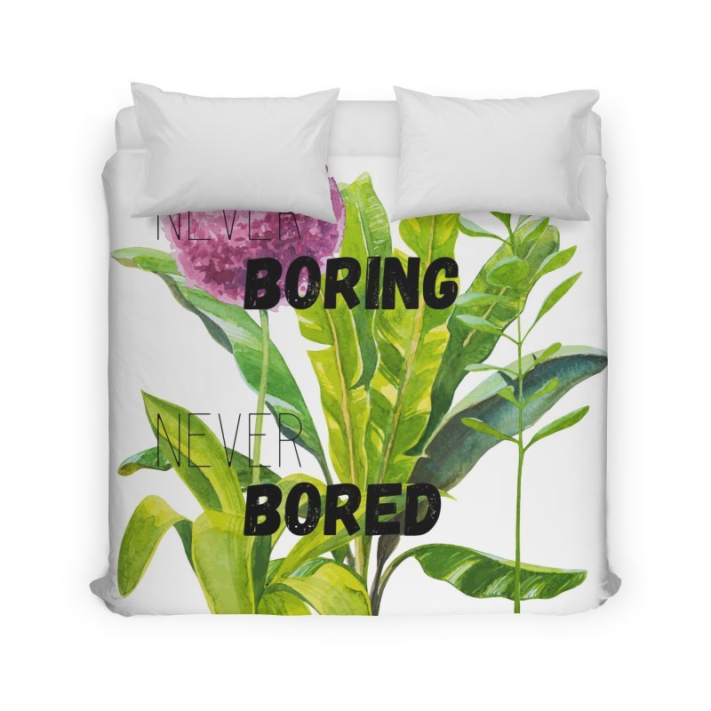 boring! Home Duvet by gasponce