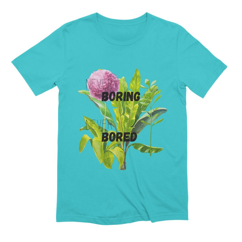 boring! Men's Extra Soft T-Shirt by gasponce