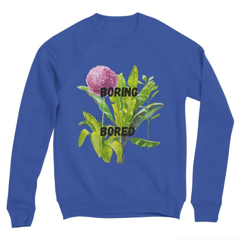 boring! Men's Sponge Fleece Sweatshirt by gasponce