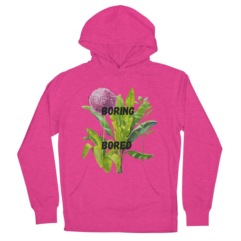 boring! Women's French Terry Pullover Hoody by gasponce