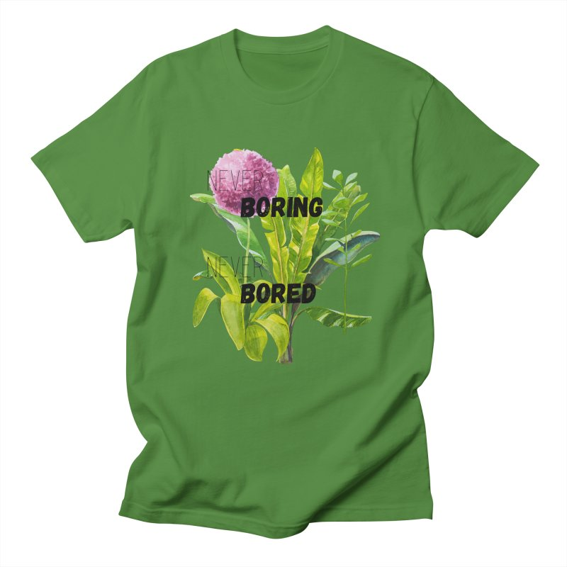 boring! Women's Regular Unisex T-Shirt by gasponce
