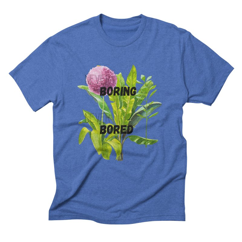 boring! Men's Triblend T-Shirt by gasponce