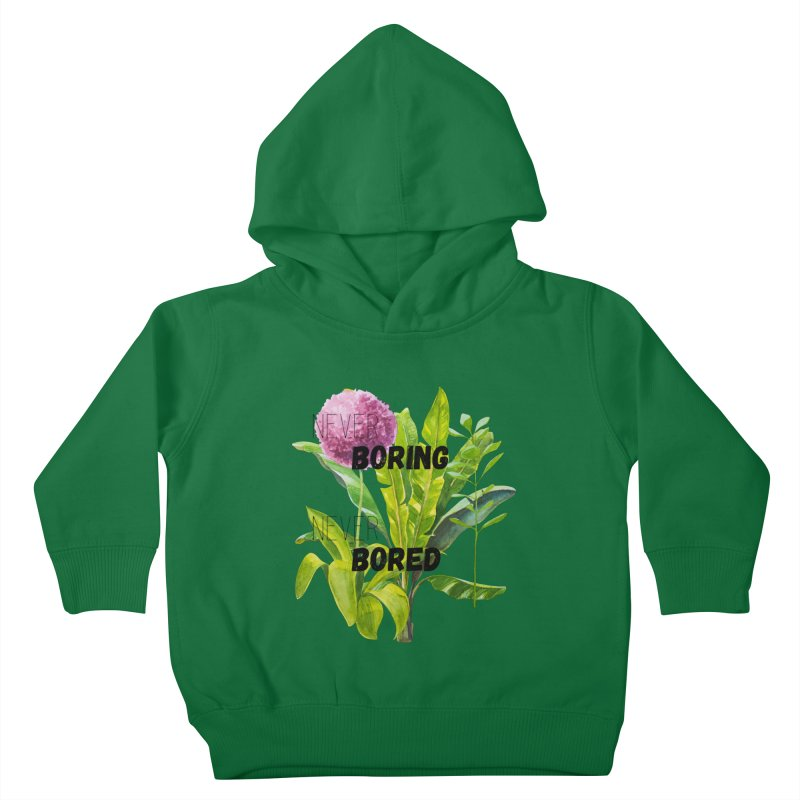 boring! Kids Toddler Pullover Hoody by gasponce
