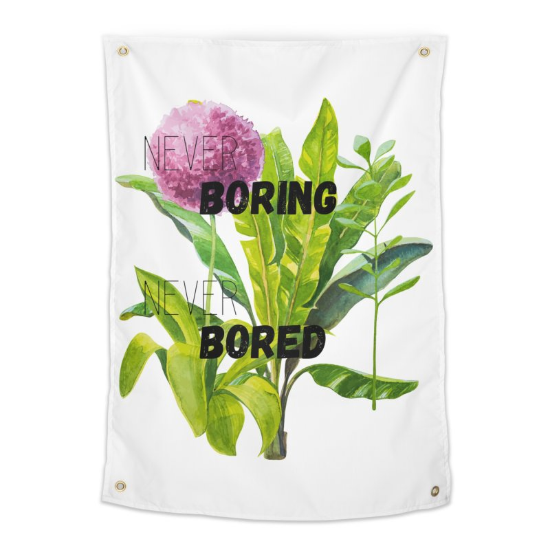 boring! Home Tapestry by gasponce