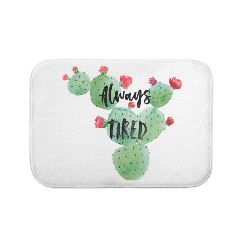 Tired! Home Bath Mat by gasponce
