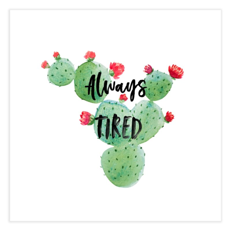 Tired! Home Fine Art Print by gasponce