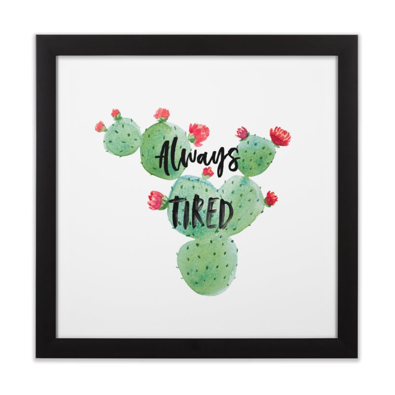Tired! Home Framed Fine Art Print by gasponce