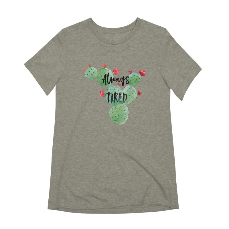 Tired! Women's Extra Soft T-Shirt by gasponce