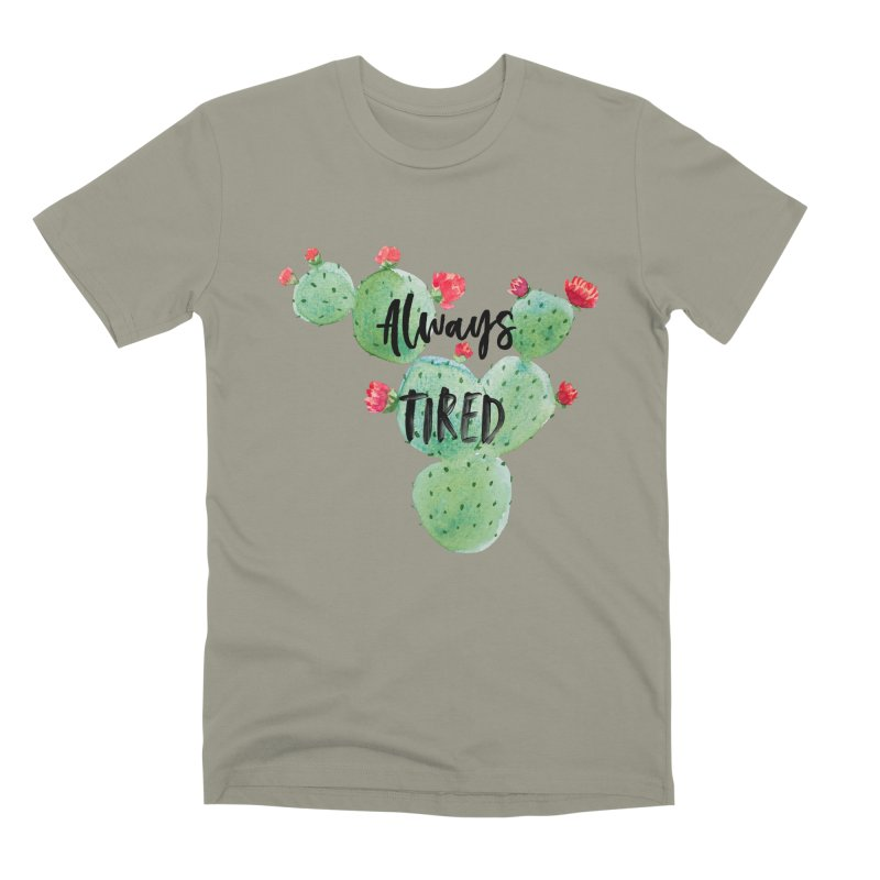 Tired! Men's Premium T-Shirt by gasponce