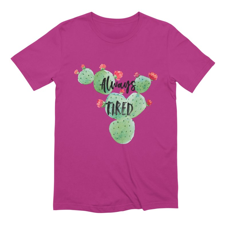 Tired! Men's Extra Soft T-Shirt by gasponce