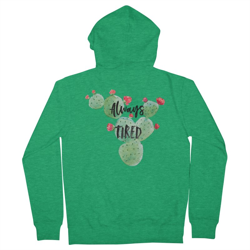 Tired! Men's Zip-Up Hoody by gasponce