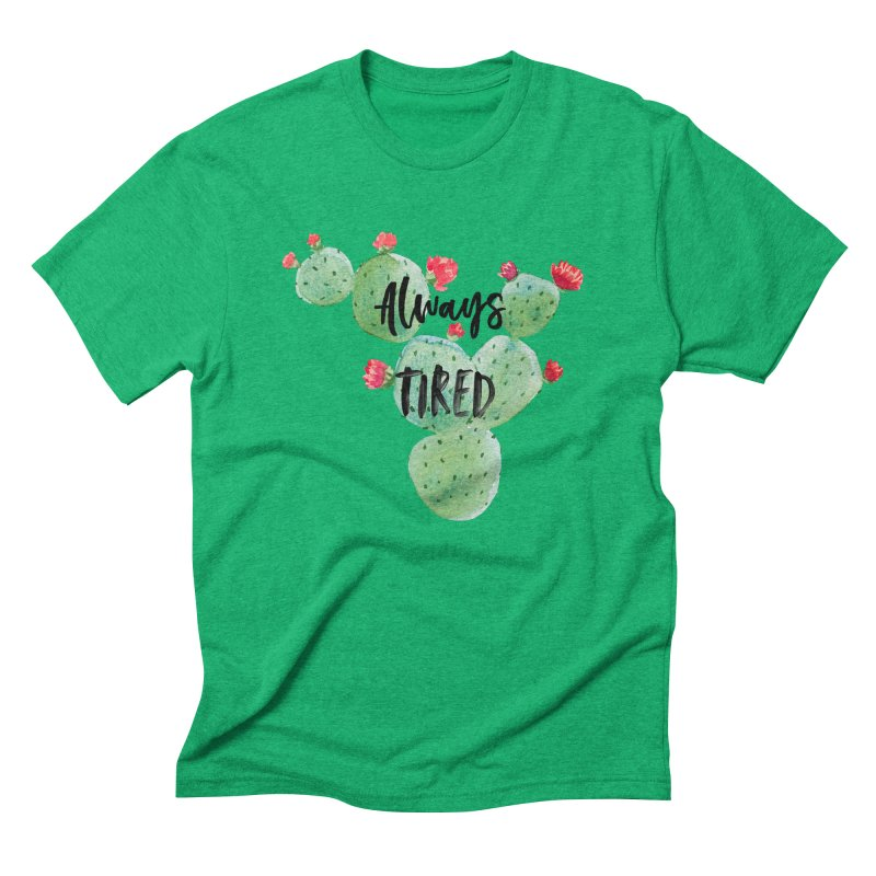 Tired! Men's Triblend T-Shirt by gasponce