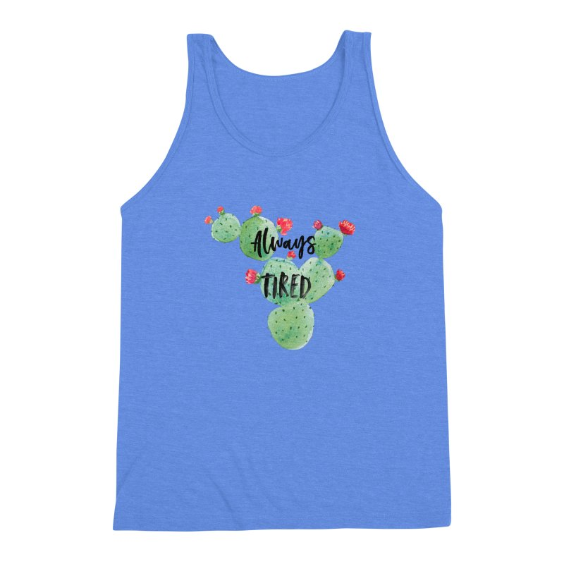 Tired! Men's Triblend Tank by gasponce